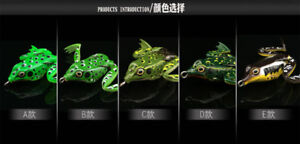 Lunkerhunt Lunker Frog Series Fishing Lure 2-Inch 5 Styles for Choice 1pcs5pcs