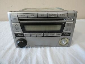 ✅ 04-05 Mazda Miata Multi-Function Audio System Radio SAT Tape CD Player OEM
