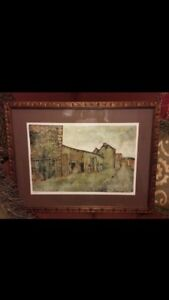 Limited Edition Lithograph by Late French Painter Artist Bernard Gantner 332375