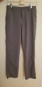 Boys Under Armour Golf Pants Size Youth Large YLG GRAY