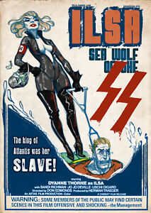 Ilsa The Wolf of the SS Style C Poster 13x19