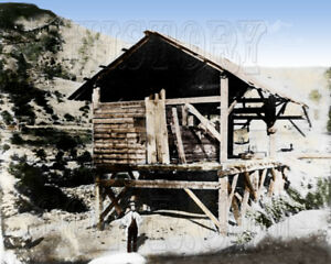 Sutter's Mill California Gold Rush 49ers  color photo - I10037