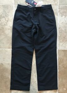 Under Armour Boy's Match Play Pants S Youth Golf Black 1271852