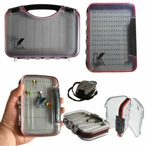 Fishing Tackle Storage Boxes Waterproof Floating Great for Ice Fishing Jigs