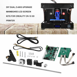 Creality 3D Printer Upgrade Z Axis Kits 2 Lead Screws for CR-10 to CR-10S NEW EK