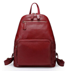 Clearance Price 100% Genuine Leather First Layer Cow Leather Women's Backpack