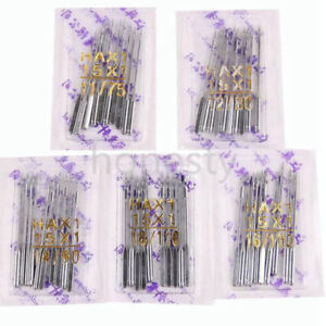 100X Home Sewing Machine Needle 11 7512 8014 9016 10018 110 for Singer $7.89