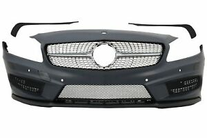Front Bumper for Mercedes A-Class W176 12+ A45 AMG Design Grill PDC Free P