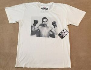 Under Armour Roots Of Fight Joe Louis Brown Bomber Shirt Boxing Mens X Large