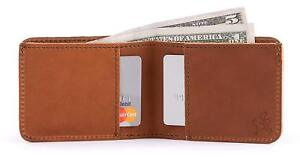 Saddleback Leather Small Bifold Wallet - RFID Shielded 100% Full Grain Leather