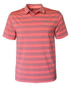 Under Armour Men's Performance Golf Polo Shirt Striped Top
