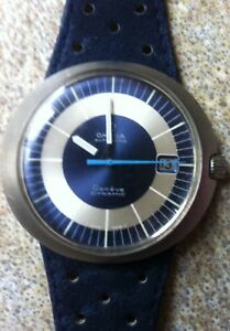 Vintage Omega Geneve Dynamic Automatic watch acclaimed as first Designer Watch