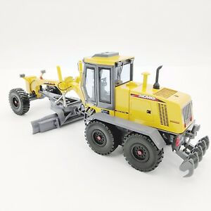 Motor Grader Diecast Model Replica Caterpillar Yellow 1:35 Construction Vehicle