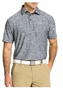 Under Armour Elevated Heather Polo Tee - Men's - Choose SZColor