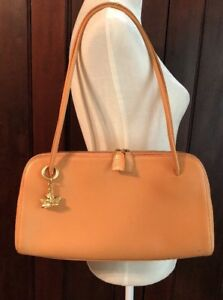 Comtesse When Angels Travel Peach Leather Handbag Germany