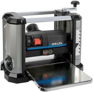Delta Portable Thickness Planer 15 Amp 13 in. Steel Cutter Head Woodworking