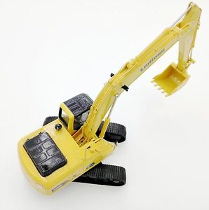 Excavator model Diecast construction vehicle Yellow caterpillar scale 1:35 truck