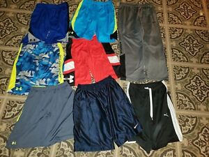 Boy Clothes large Lot of size youth XL Nike under armour 1 Pants 7 Shorts