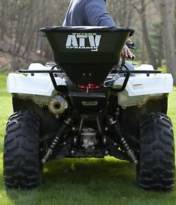 ATV Broadcast Spreader Lawn Electric Seed Feed Fertilizer Farm Landscape Hunting