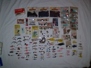 Huge LOT VintageOld Fishing Lure NOS and used Luhr Jensen Les Davis Gibbs Andy
