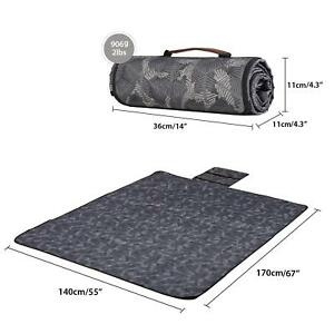 Outdoor Picnic Blanket Waterproof Camping Beach Mat Sand Proof Washable 67