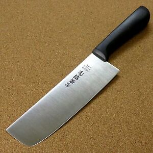 Japanese Kitchen Usuba Nakiri Knife 160mm 6.3quot; Plastic resin handle SEKI JAPAN