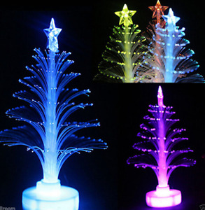 Color Changing Christmas Xmas Tree LED Light Lamp Home Party Decoration Mini $1.12
