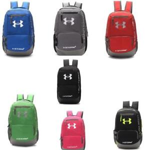 Under Armour Waterproof nylon backpack students pack travel bag