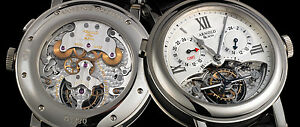 Arnold & Son GMT II Tourbillon 18K WG GMT. In-house Movt. 110 Hr Power. LE 10