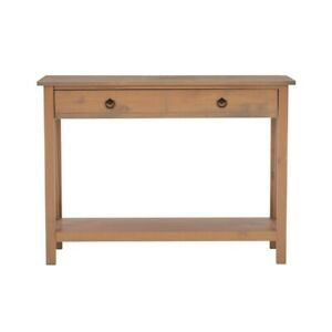 Riverbay Furniture Console Table in Rustic Gray