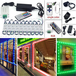 US 10FT~1000FT 5050 SMD 3 LED Module STORE FRONT Window Sign Light Lamp Kits WQ