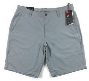 Under Armour UA Golf Match Play Tapered Shorts Mens 36 Steel Grey