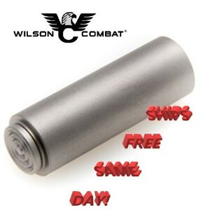 Wilson Combat 1911 Recoil Spring Plug, Ringed Cap, Bullet Proof, Stainless # 566
