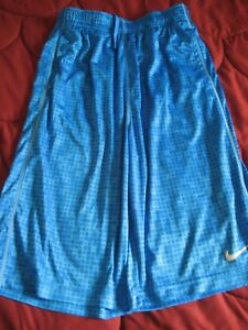 Boys Nike Dry Fit SHORTS Blue ~ YOUTH SIZE XL