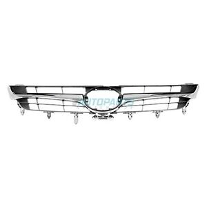 NEW FRONT GRILLE BLACK WITH CHROME MOLDING FITS 2015-2017 TOYOTA CAMRY TO1200387