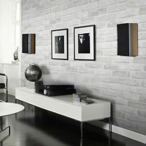 Deep Embossed 3D Brick Wall Paper Brick Stone Wallpaper Roll For Living Room