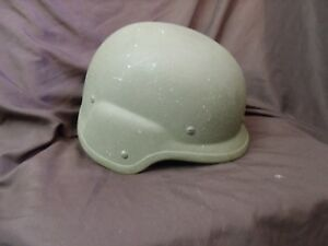 United States Military Issued DuPont Kevlar Unicor PASGT Helmet Immaculate Shape