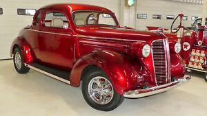 1937 Other -- 1937 Dodge Business Coupe  1121 Miles Candy Apple Red 2 Door Coupe 350 Automatic