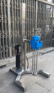 high shear mixer 4KW disperser emulsifying machine electric lifting basement T