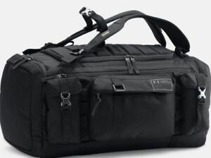Under Armour Like Project Rock Range Duffel Bag Black Limited Edition