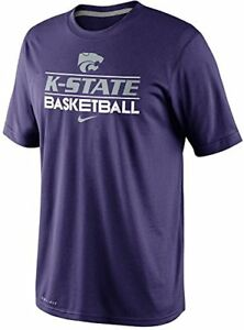 Nike Kansas State Wildcats Basketball Dri-FIT 2013 Team Issue Practice T-Shirt