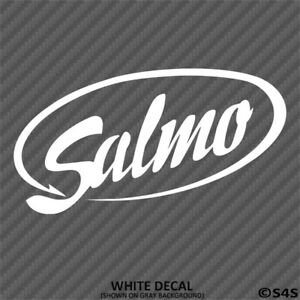 Salmo Fishing Lures Outdoor Sports Vinyl Decal Sticker - Choose Color