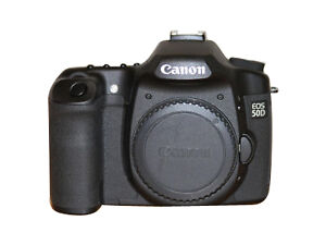 Canon 50D 15.1MP DSLR - Black (Body with Battery Grip CF Cards and CF Reader)