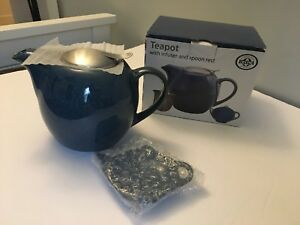 BIA CORDON BLEU TEAPOT With Infuser And Spoon Rest New