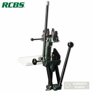 RCBS Turret PRESS Reloading 50 to 200 Rounds per Hour 88901 FAST SHIP