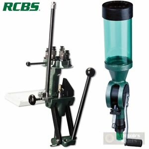 RCBS Turret PRESS + Uniform Powder MEASURE 88901 09010 FAST SHIP