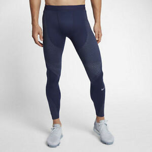 Nike Zonal Strength Running Men's Compression Tights 833180-430 SIZE M MSRP $150