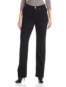 Riders by Lee Indigo Women's Classic-Fit Straight-Leg Jean Black
