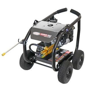 Simpson SPW6050KCGLRC 6000 PSI (Gas-Cold Water) Gear Drive Large Roll Cage Pr...