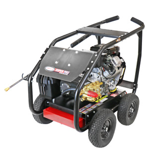 Simpson SPW4050VCGLRCA 4000 PSI (Gas-Cold Water) Gear-Drive Large Roll Cage P...
